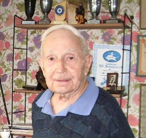 Join me in congratulating Ivan F3AT with his 100th birthday on 7 April. With 388 DXCC entities confirmed (deleted included) he is one of the leading DX-ers. It seems that chasing DX keeps him young. Ivan has also been on the other side of the pile-up operating from French Equatorial Africa as FQ3AT, French Cameroon as FQ3AT/FE, Cameroon as FE3AB and French West Africa as FF8AG. Note the EUDXF Membership Certificate on the right.