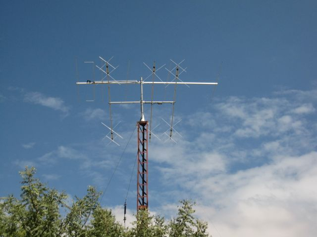 one of Z81D's antenna masts